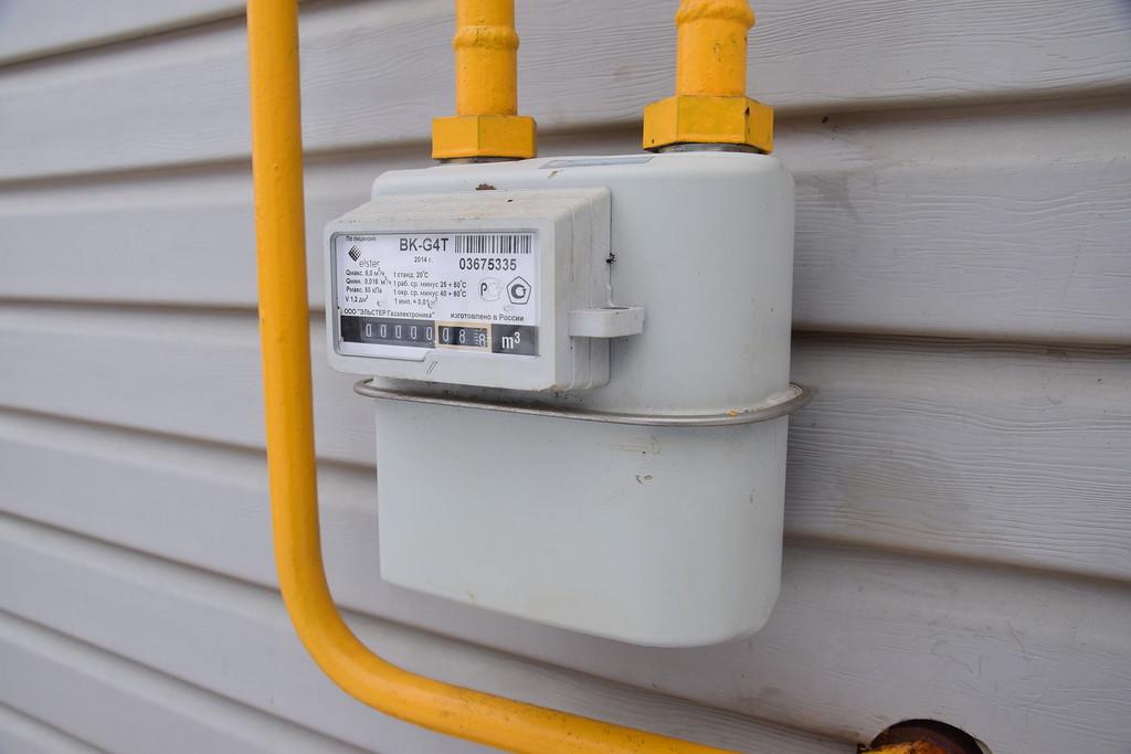 Установка газового счетчика в частном доме