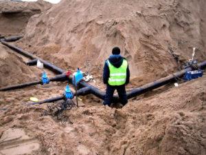 Подключение к водоснабжению