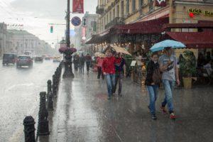 Подтопления Санкт-Петербург