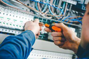 Монтаж внутреннего электроснабжения